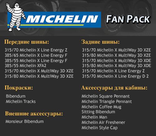 Состав дополнения Michekin Fan Pack