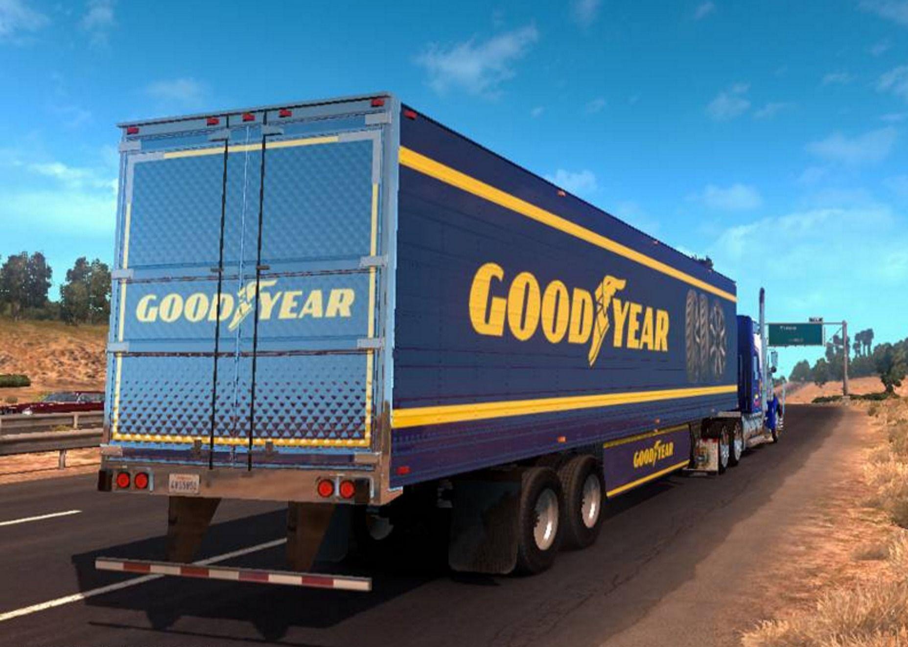 В играх SCS Software могут появиться шины Goodyear
