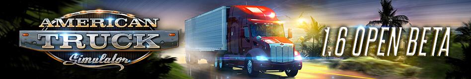Открытое бета-тестирование обновления Amrican Truck Simulator 1.6