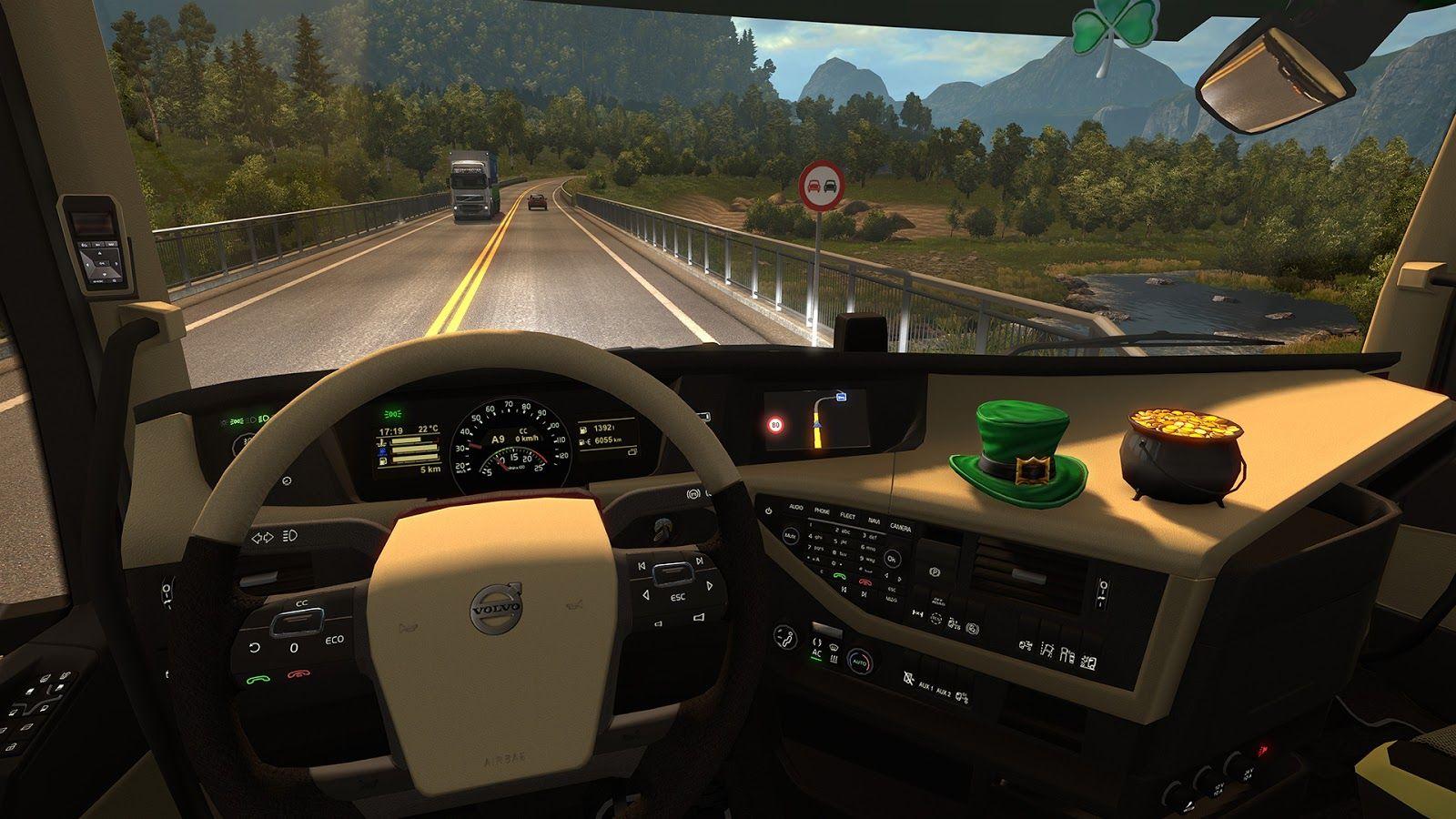 Euro Truck Simulator 2: обновление дополнения Irish Paint Jobs Pack