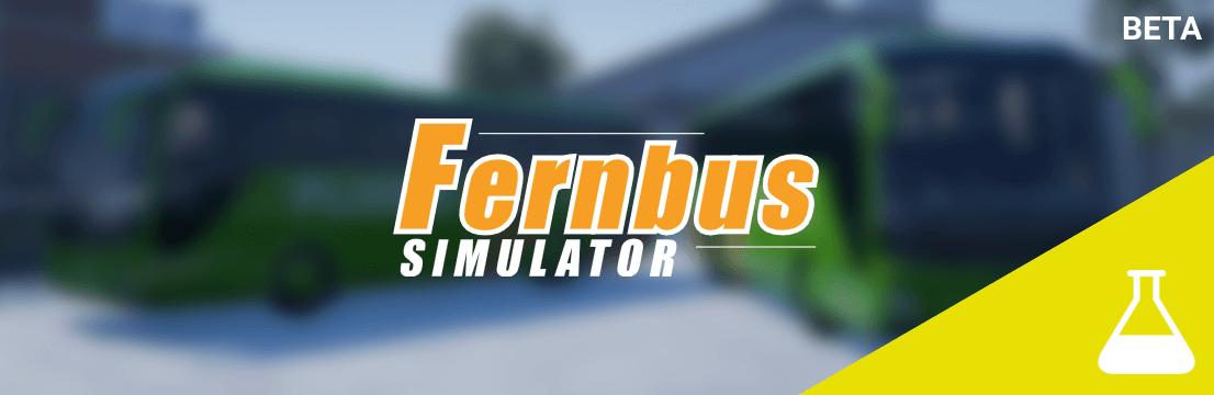 Открытый бета-тест обновлений Fernbus Simulator