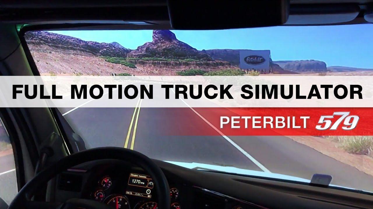 Тренажер Peterbilt 579 на выставке MATS 2017
