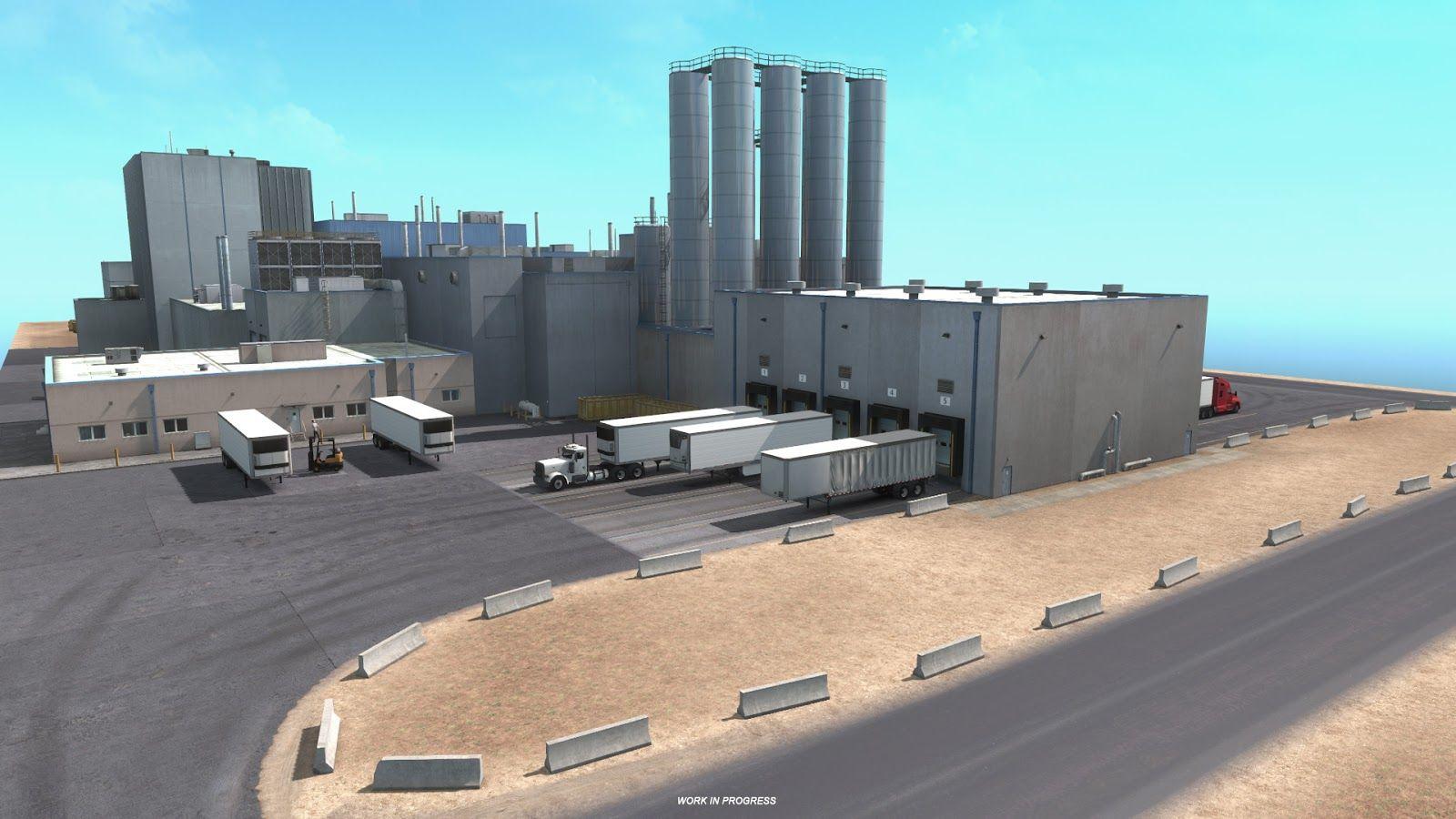 American Truck Simulator: новое окружение в дополнении New Mexico
