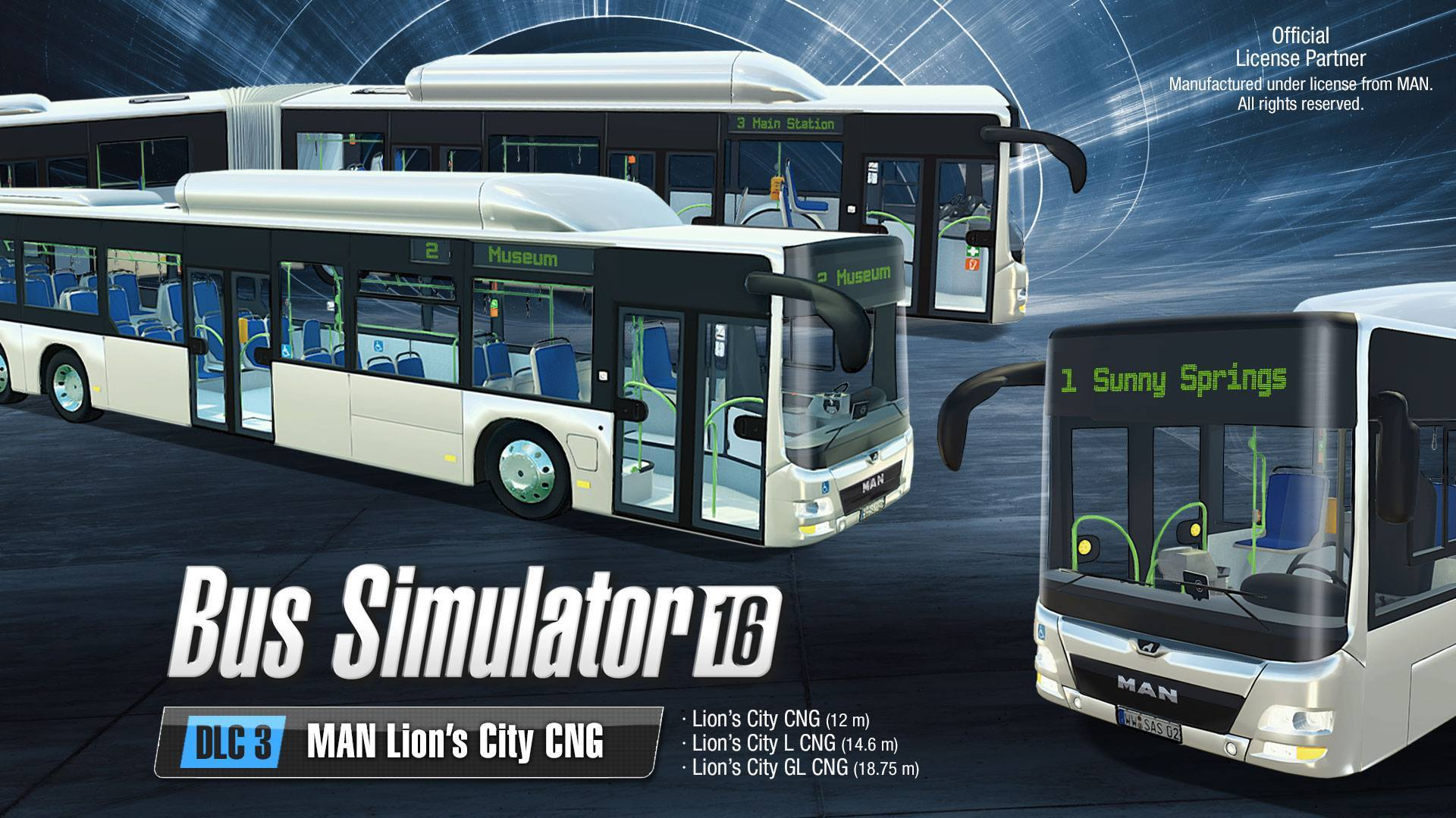Bus Simulator 16 - MAN Lion's City CNG DLC