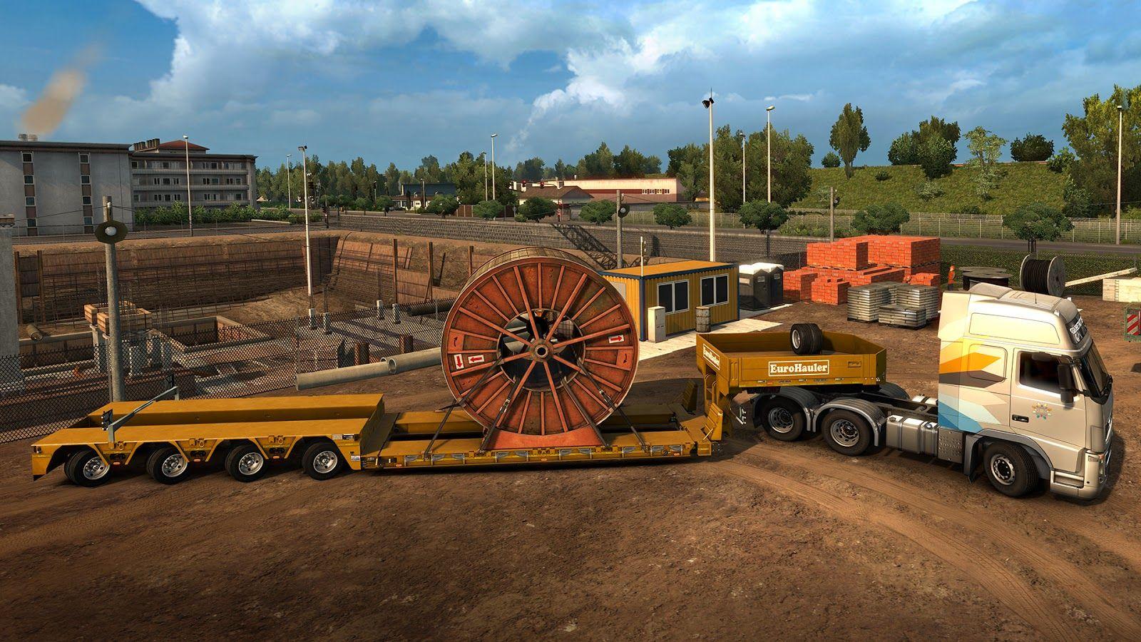 Euro Truck Simulator 2: Состоялся релиз дополнения Heavy Cargo Pack DLC