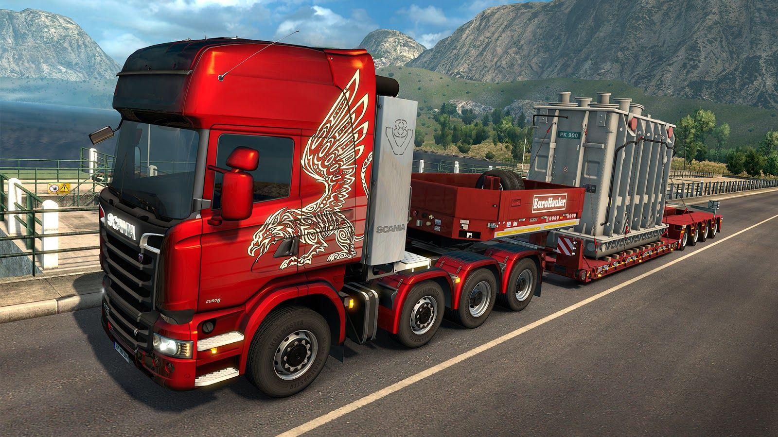 ETS2: Heavy Cargo Pack DLC