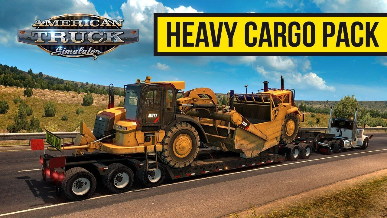 American Truck Simulator: вышло дополнение Heavy Cargo Pack DLC