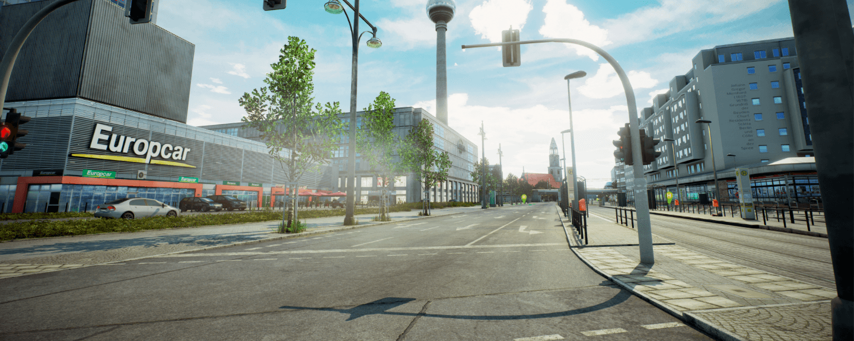 City Bus Simulator: Berlin – свежие скриншоты Берлина