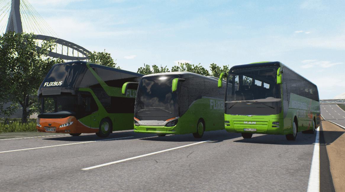 Fernbus Simulator: Автобусы