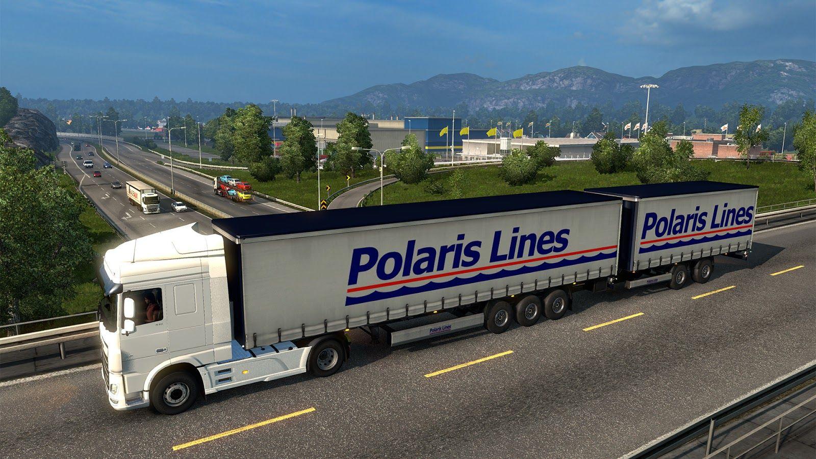 Euro Truck Simulator 2: обновление 1.28 (Открытый бета-тест)
