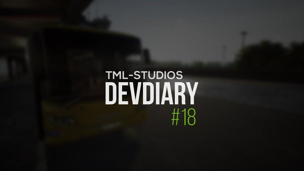 TML Studios: дневники разработчиков #18 (Fernbus Simulator и City Bus Simulator)