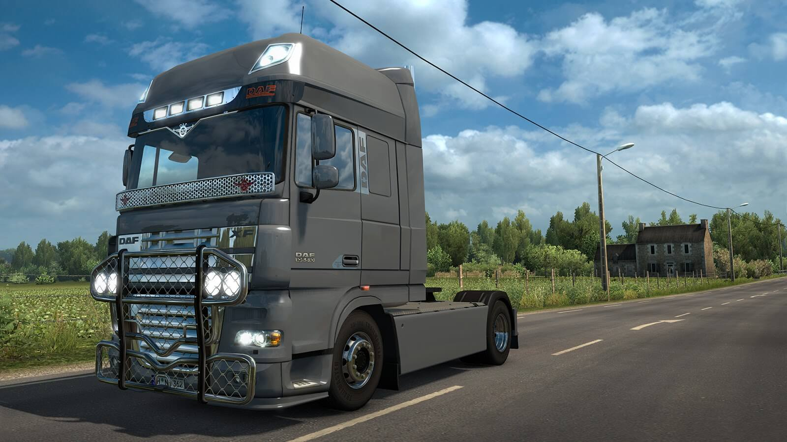 Euro Truck Simulator 2: вышло дополнение DAF Tuning Pack