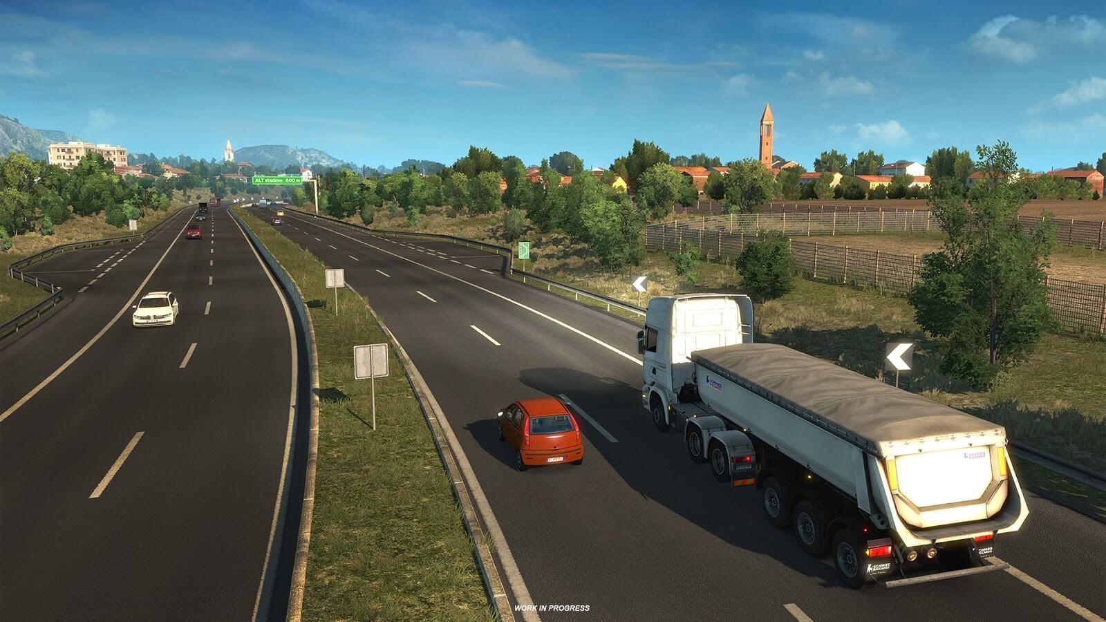 Euro Truck Simulator 2: Италия [Расширение игровой карты]
