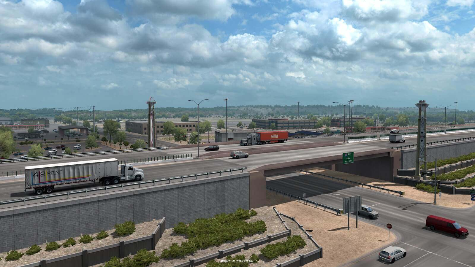 American Truck Simulator: New Mexico - Альбукерке
