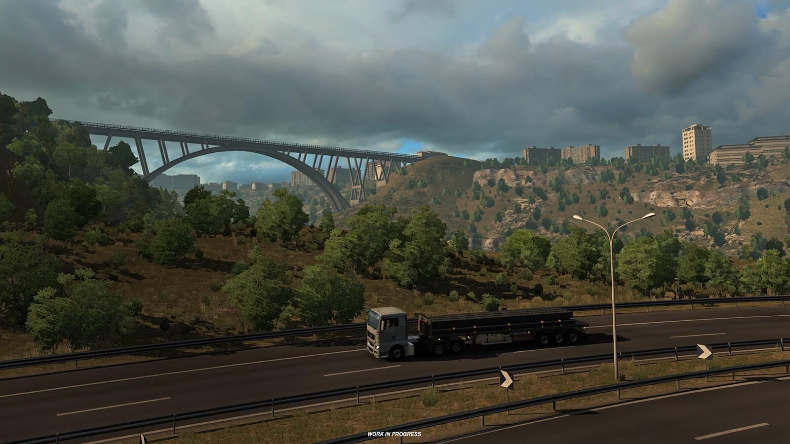 Euro Truck Simulator 2: Italia - Архитектура