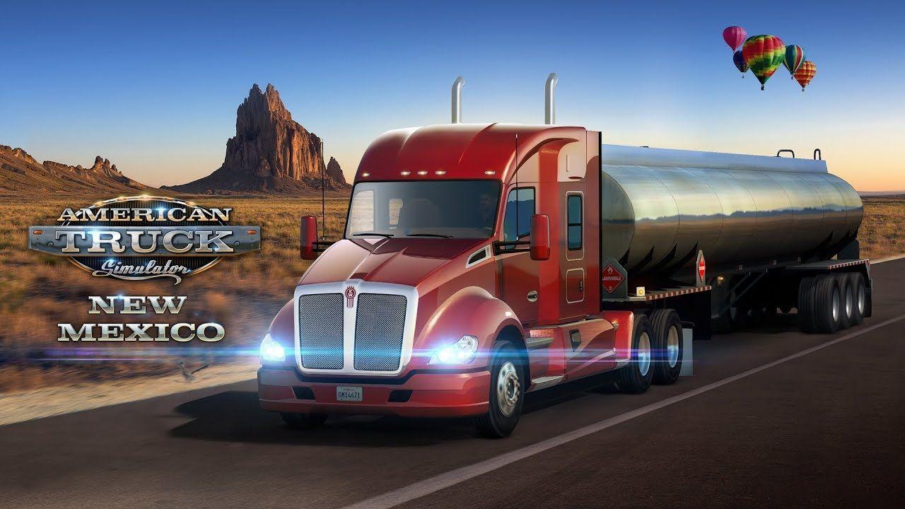 Новый промо-ролик дополнения American Truck Simulator: New Mexico
