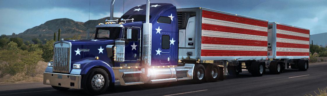 Мероприятие World Of Trucks: логистика с двойными полуприцепами [ATS]