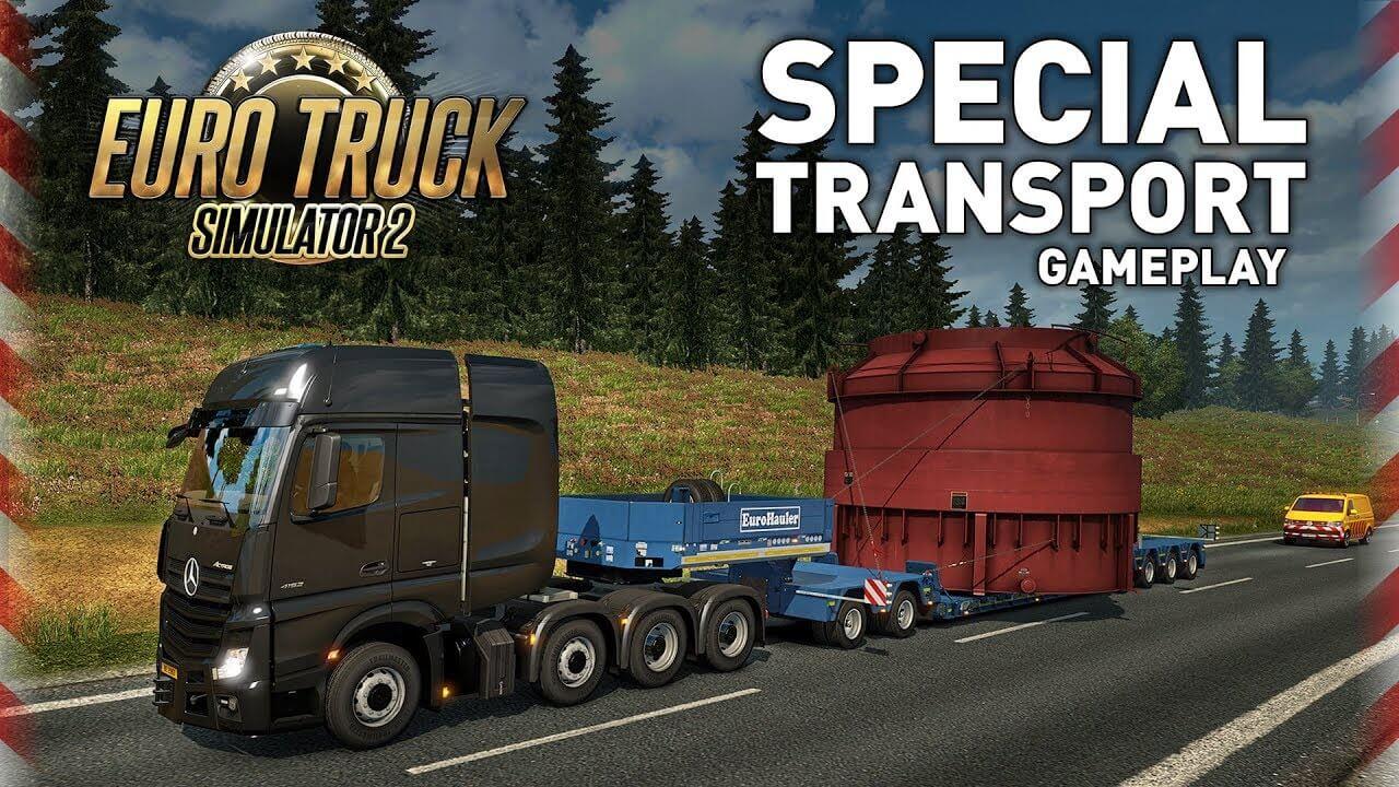 Подробности будущего дополнения Euro Truck Simulator 2: Special Transport DLC