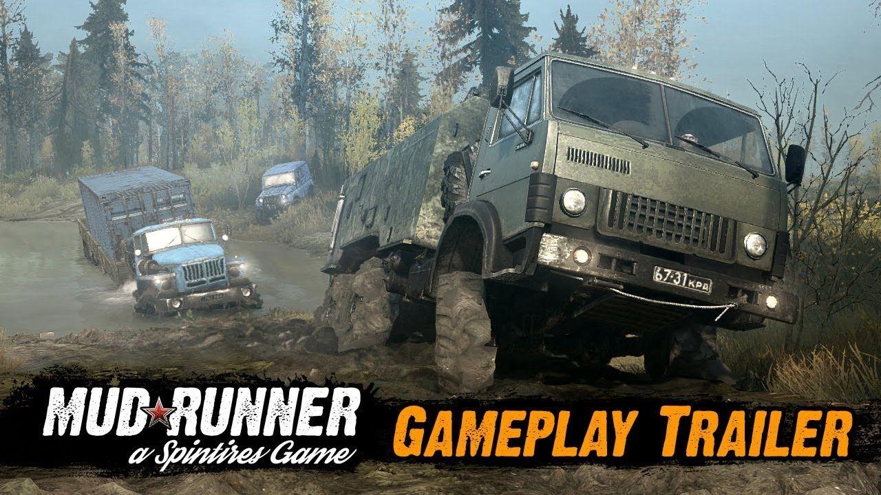 Spintires: MudRunner - первый геймплейный трейлер игры