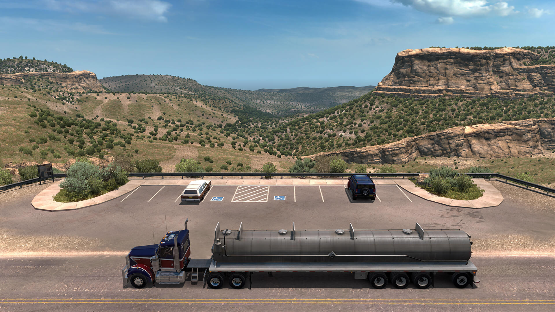 Просторы штата ATS: New Mexico