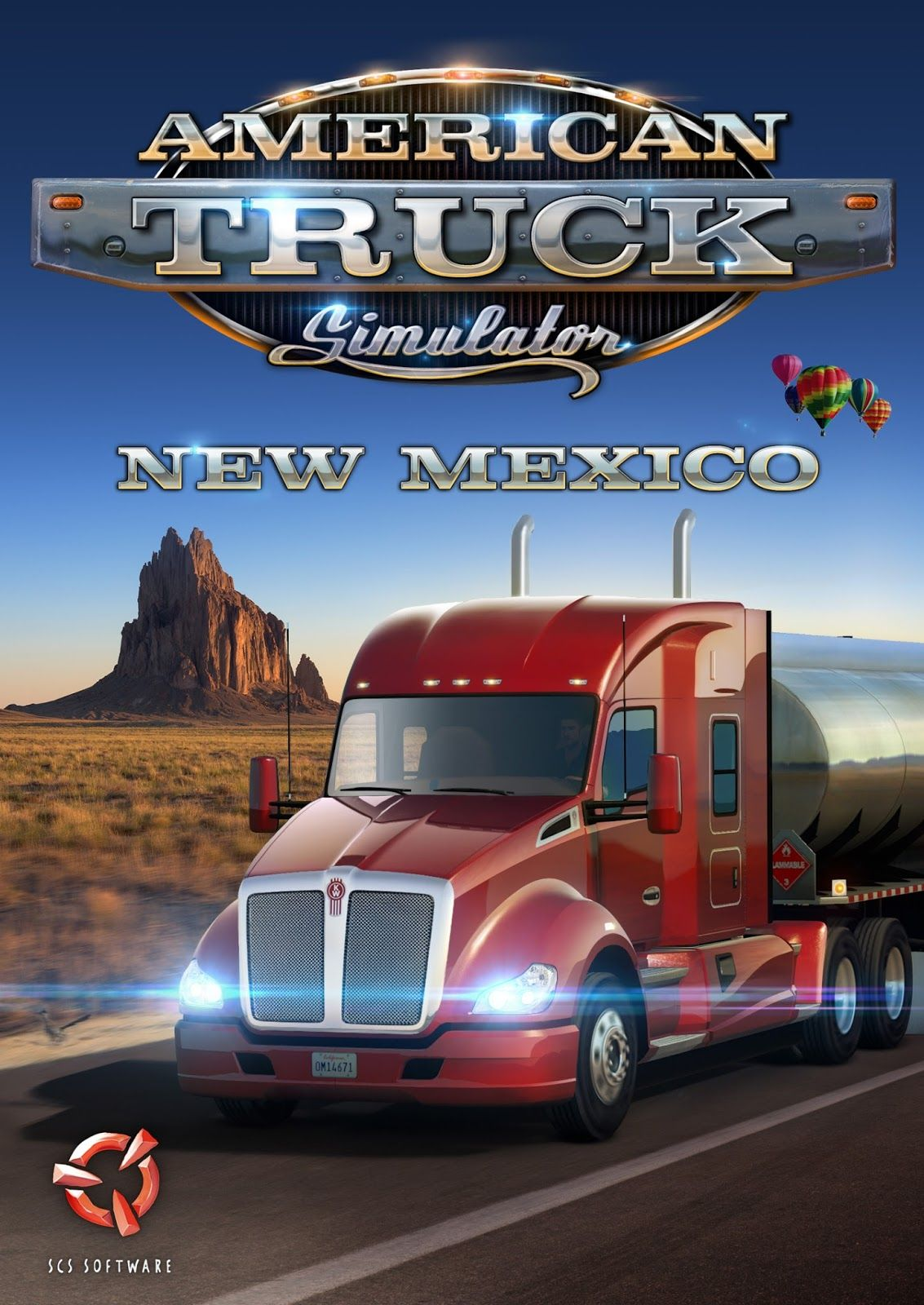 Объявлена дата выхода дополнения American Truck Simulator: New Mexico