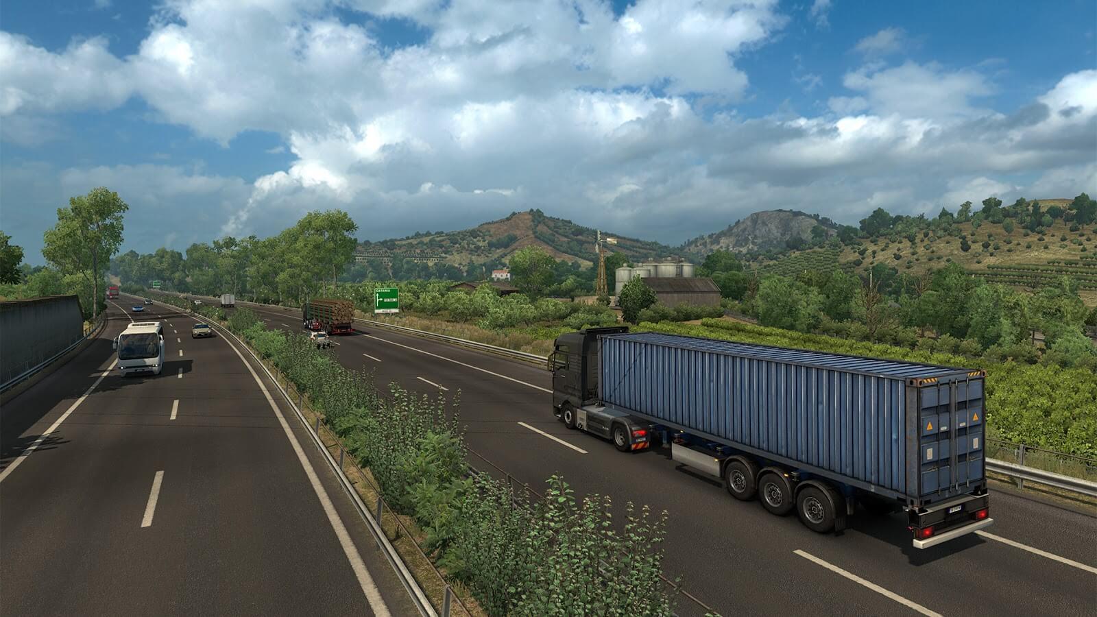 Состоялся релиз дополнения Euro Truck Simulator 2: Italia