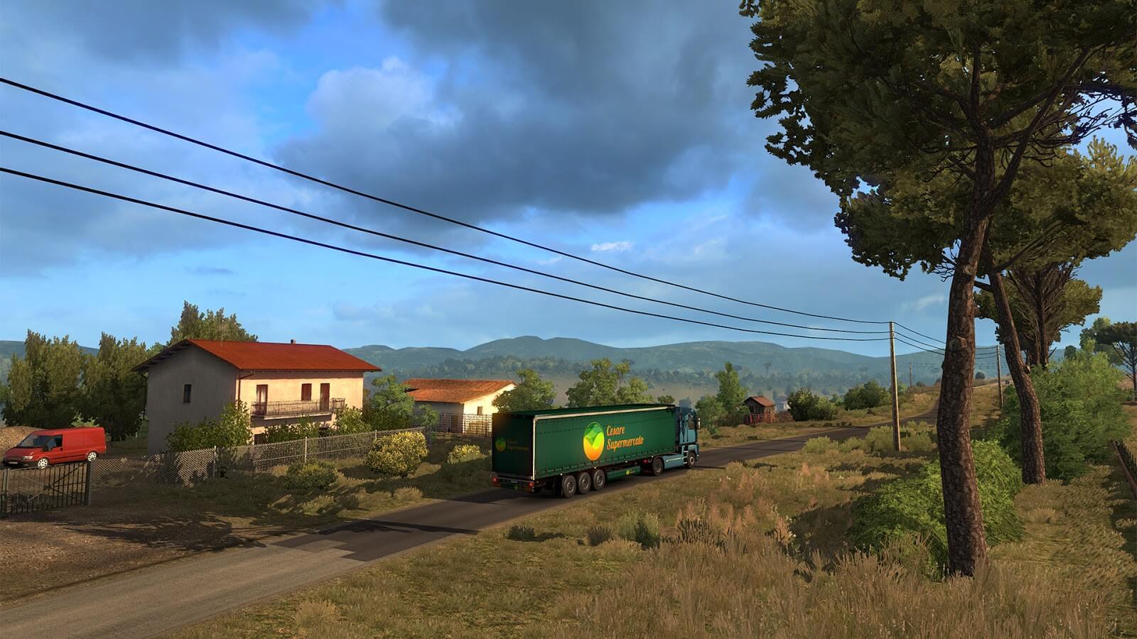 ETS 2: Italia DLC - Сицилия