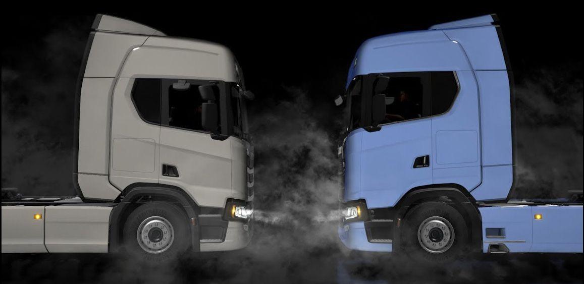 Новые тягачи SCANIA серии S и R в обновлении ETS 2 1.30