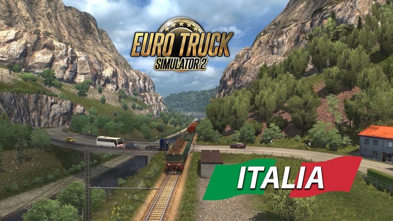 Интересные видеоролики по дополнению ETS 2: Italia от фанатов студии