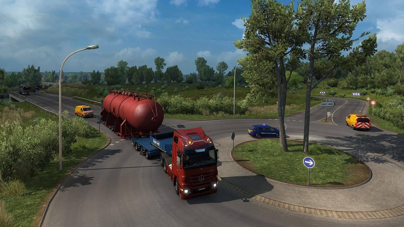 Вышло дополнение Euro Truck Simulator 2: Special Transport DLC