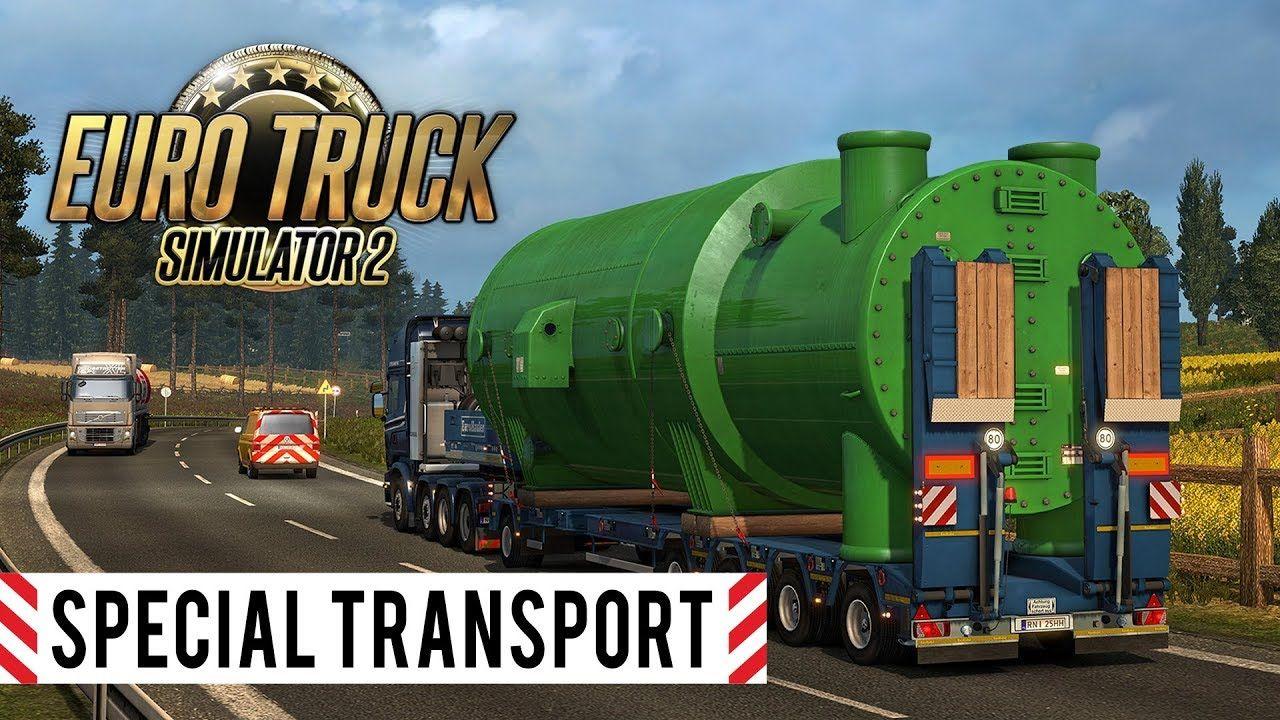 Вышел трейлер дополнения Euro Truck Simulator 2: Special Transport DLC
