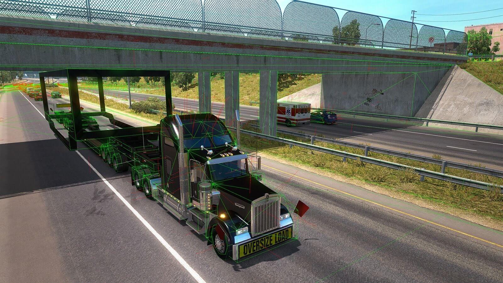 American Truck Simulator: Special Transport DLC - вводная информация