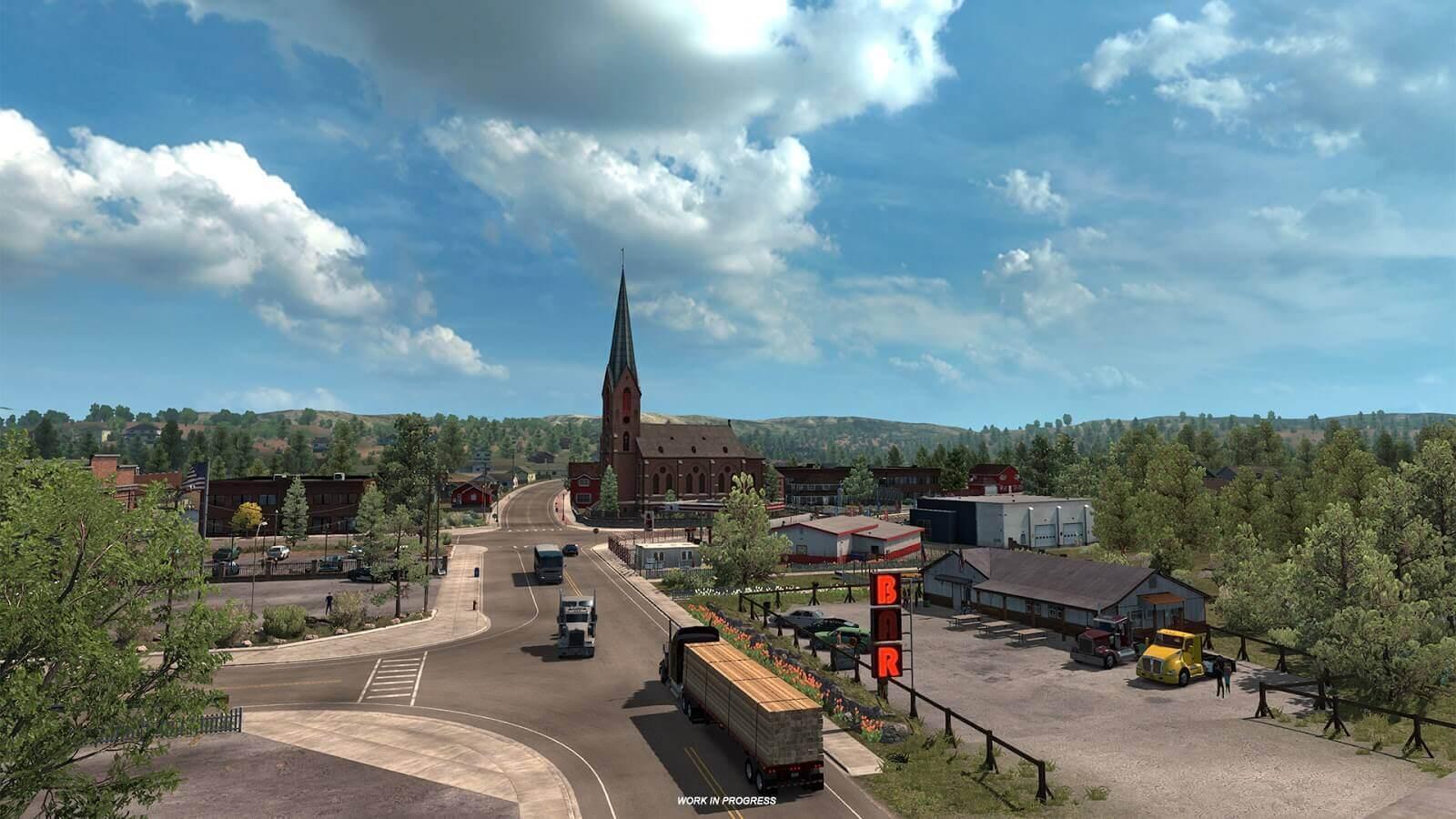 American Truck Simulator: немного слов о