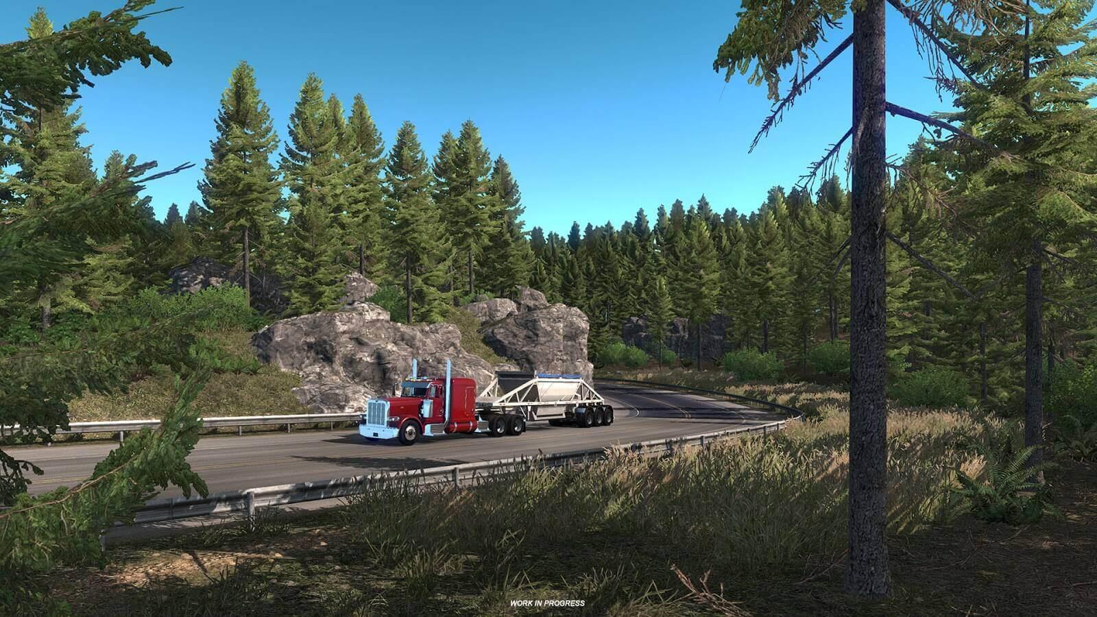 American Truck Simulator - штат Орегон, первые новости разработки