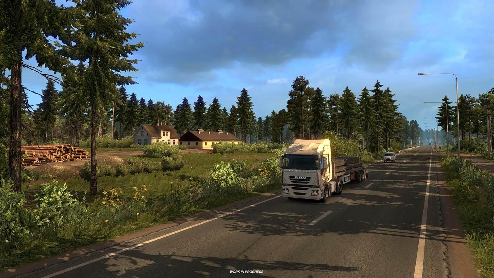 Коротко о следующем дополнении с расширением карты Euro Truck Simulator 2