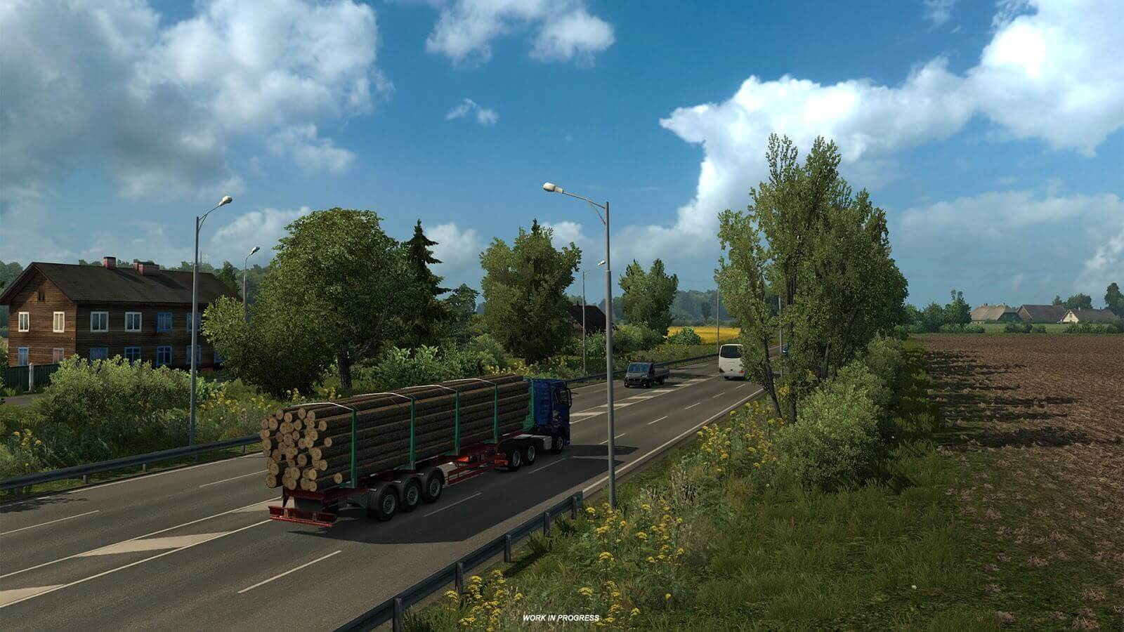 Euro Truck Simulator 2: Beyond the Baltic Sea - видеролики сообщества
