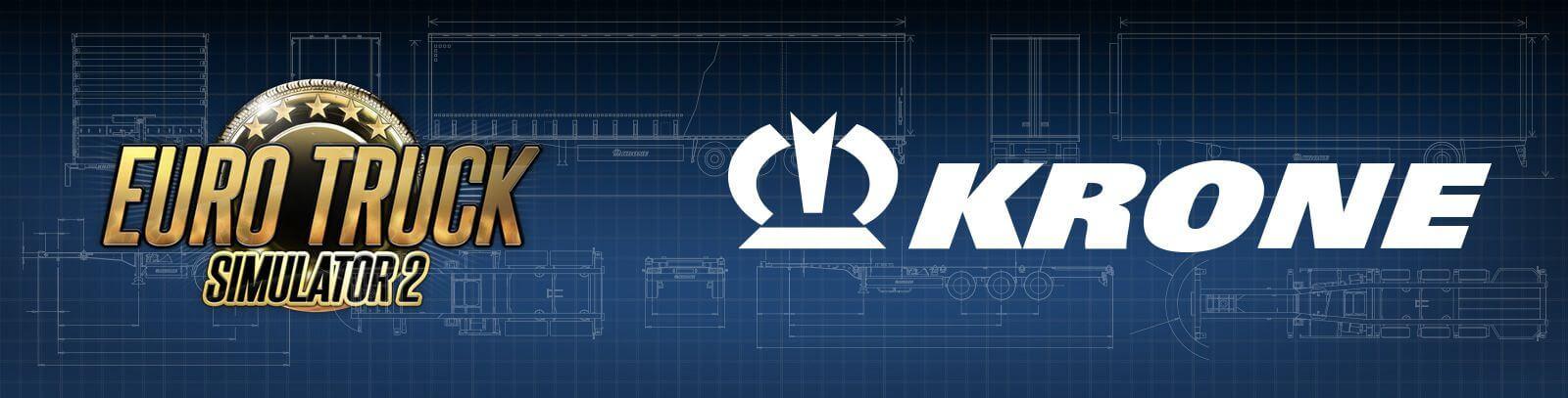 В ETS 2 скоро появятся полуприцепы марки KRONE