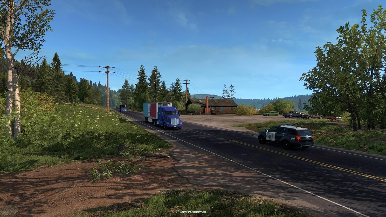 Видеоролики о штате Орегон из игры American Truck Simulator