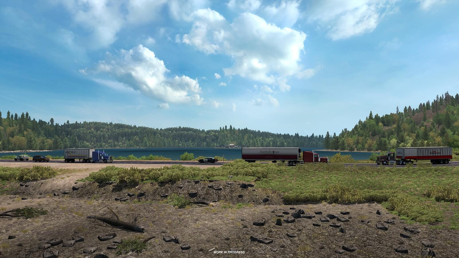 American Truck Simulator: новая информация о дополнении Oregon (Трасса 101)