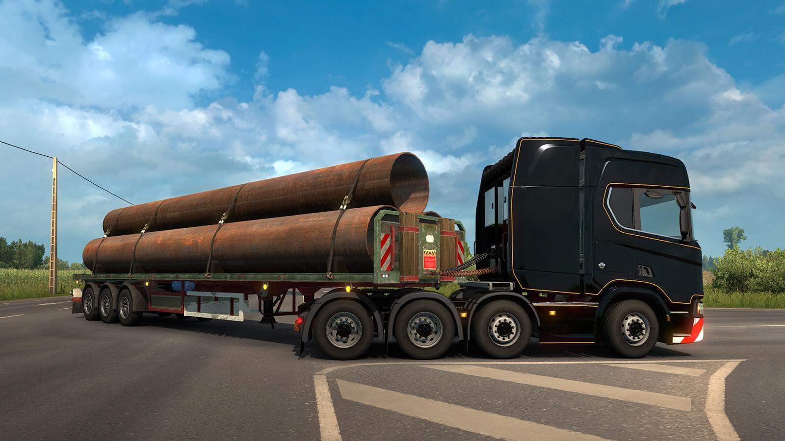 Euro Truck Simulator 2: обновление 1.31 (Открытый бета-тест)