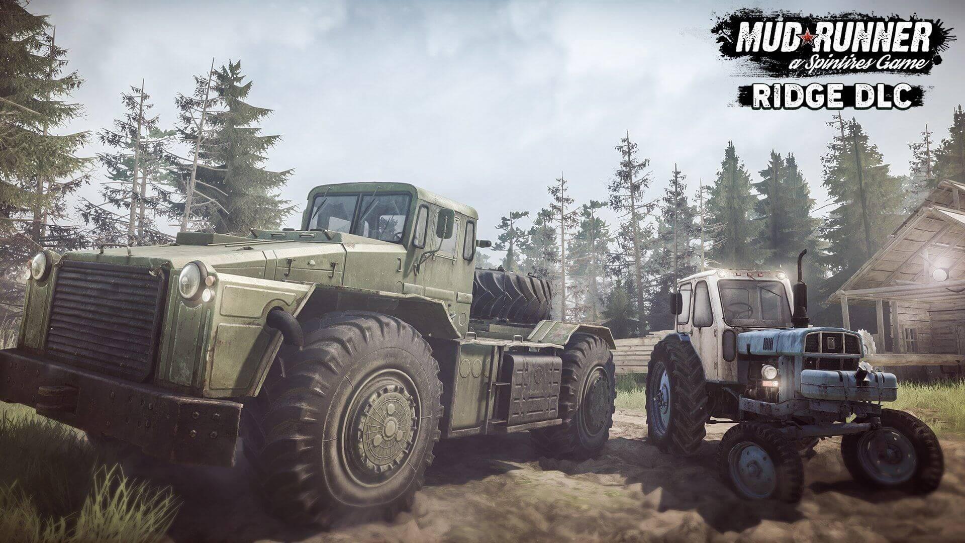 Spintires: Новая техника в дополнении Spintires: MudRunner - The Ridge DLC