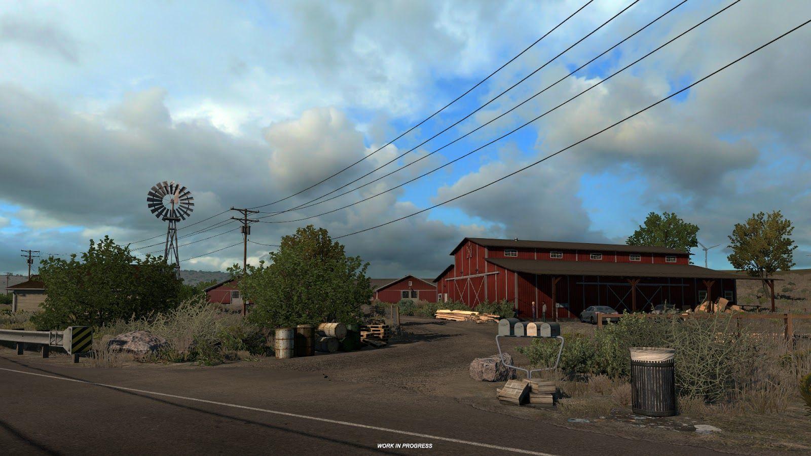 American Truck Simulator: природа штата Орегон