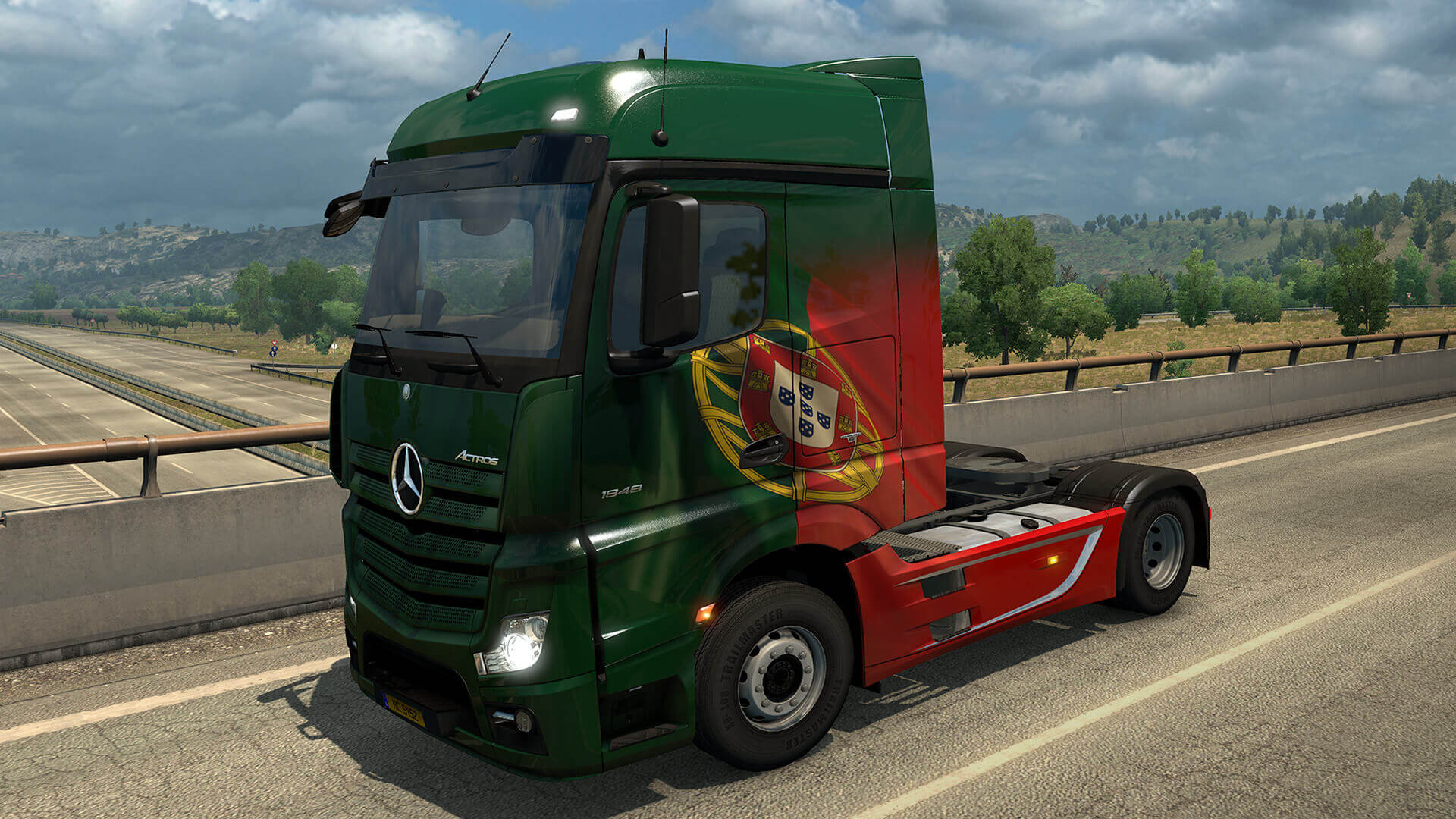 Euro Truck Simulator 2: вышло дополнение Portuguese Paint Jobs Pack