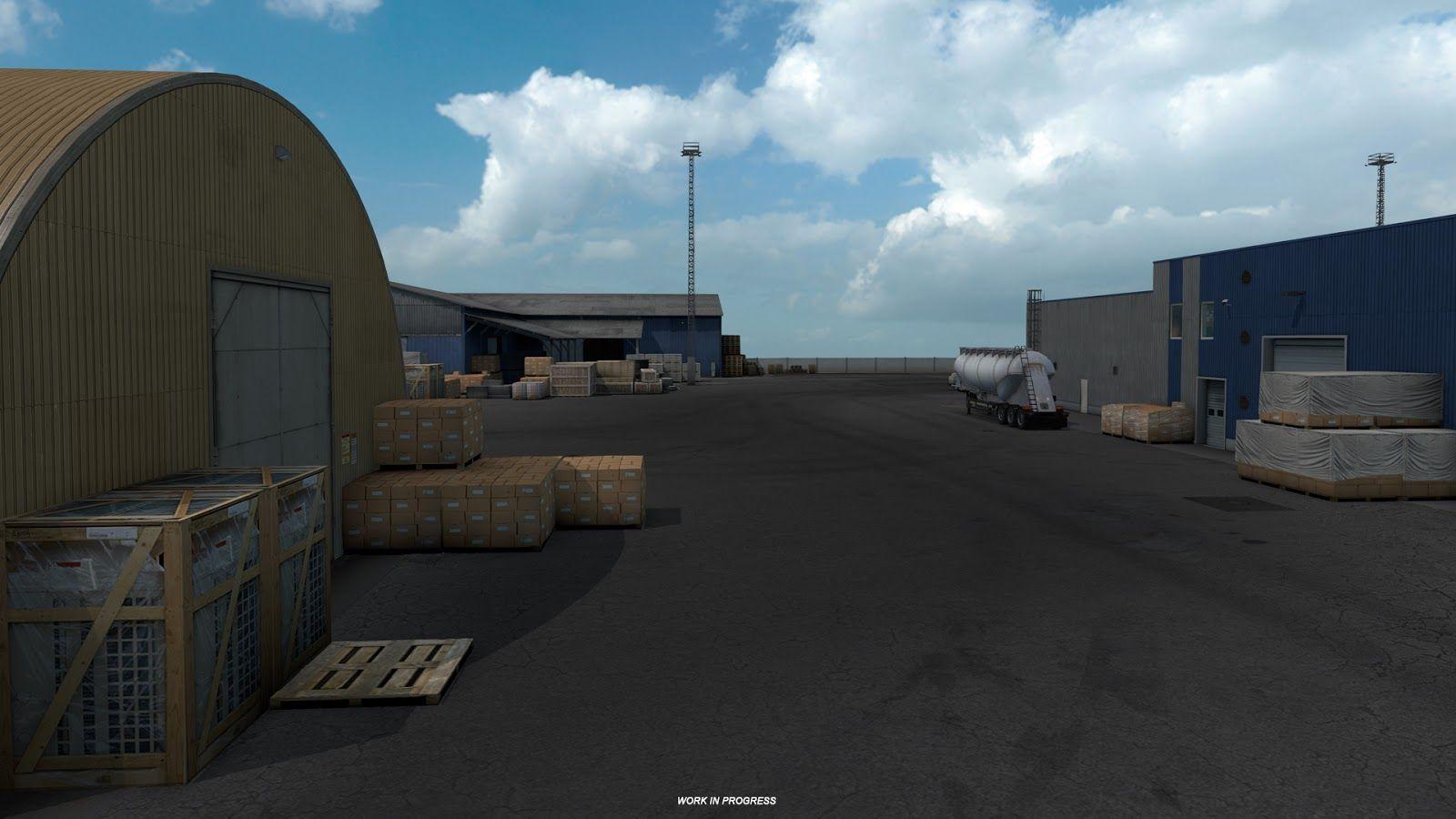 Новая промышленность в дополнении Euro Truck Simulator 2: Beyond the Baltic Sea (Часть 2)