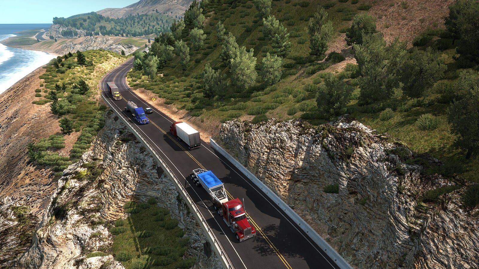 """Итоги мероприятия World Of Trucks """"Big Sur"""" и открытие первого Калифорнийского шоссе"""