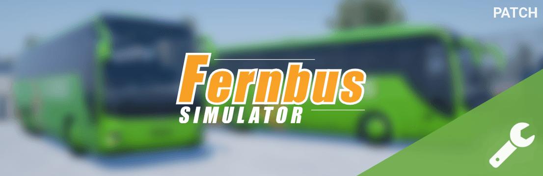 Fernbus Simulator обновление 1.18 и небольшой hotfix
