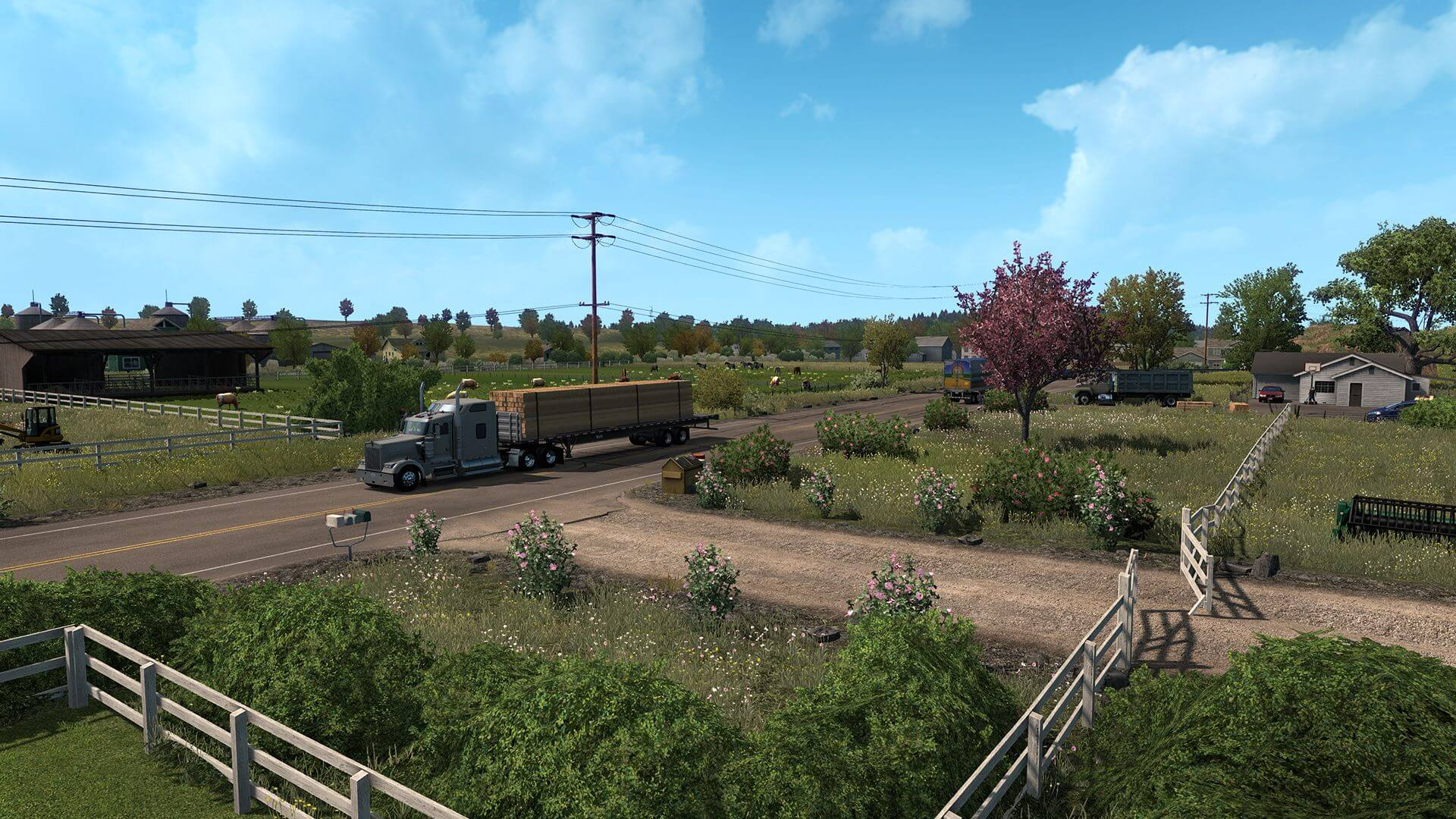 В Steam появились страницы дополнений Euro Truck Simulator 2 - Beyond the Baltic Sea и American Truck Simulator - Oregon