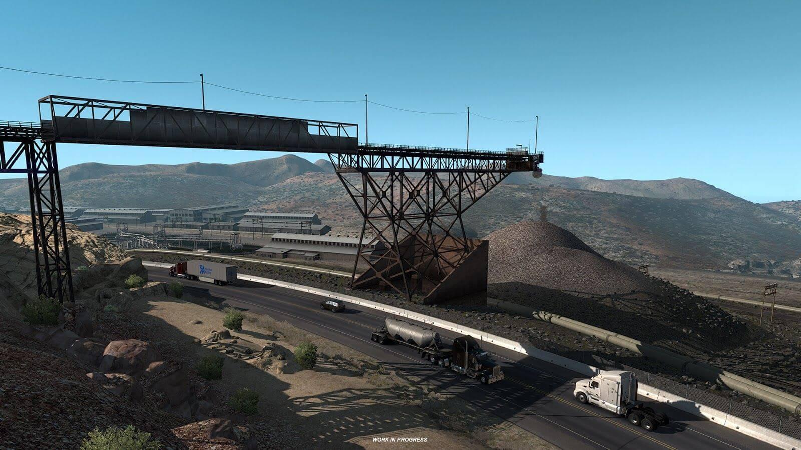 American Truck Simulator: обновление 1.32 (Открытый бета-тест)