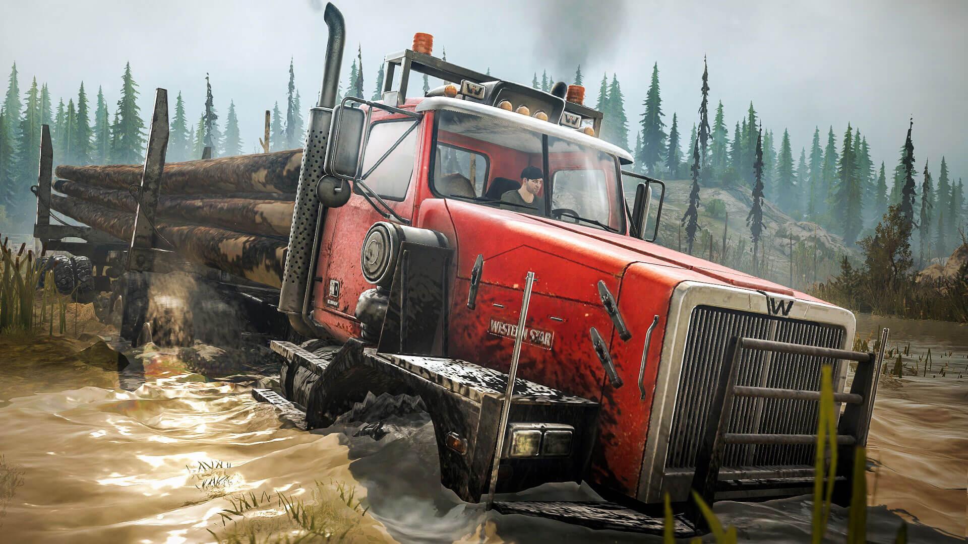 Дата выхода и тизер дополнения Spintires: MudRunner - American Wilds DLC