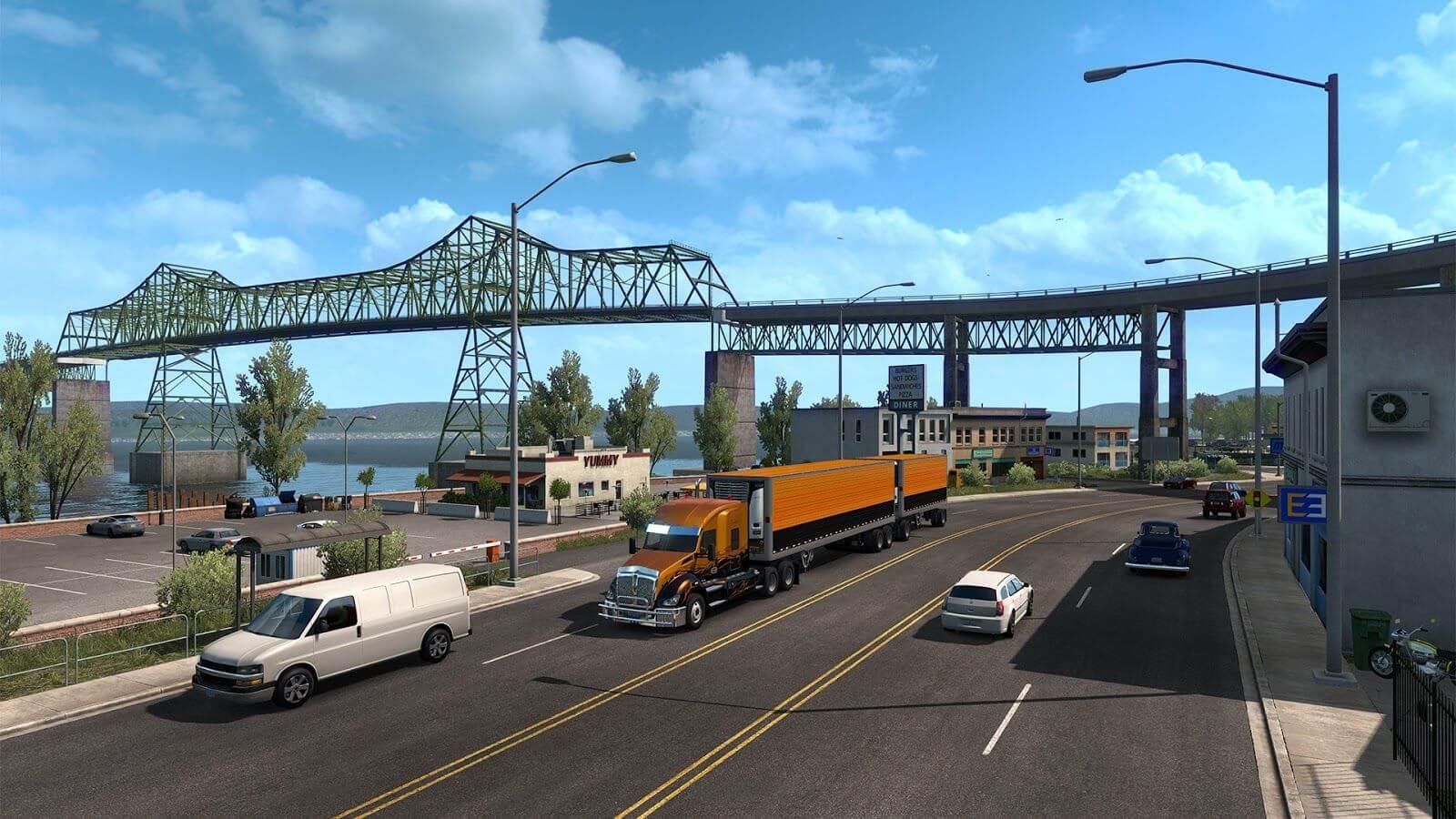 Дополнение American Truck Simulator: Oregon выйдет уже в октябре